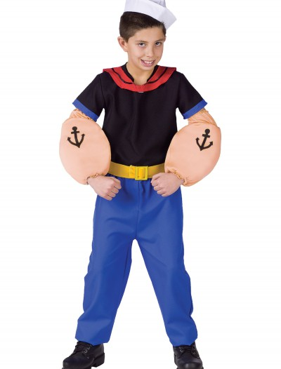 Child Popeye Costume, halloween costume (Child Popeye Costume)