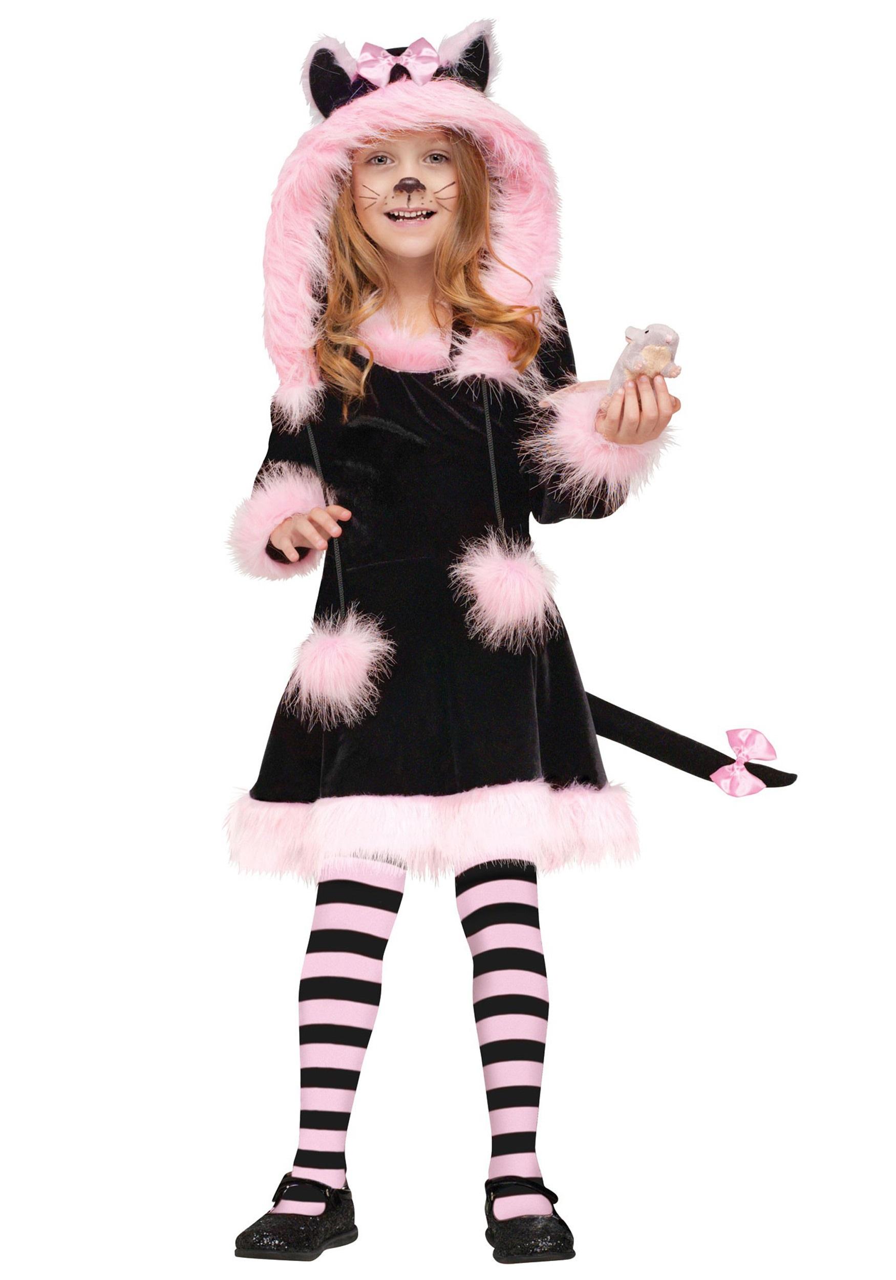 Child Pretty Kitty Costume Halloween Costumes