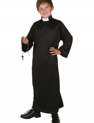 Child Priest Costume, halloween costume (Child Priest Costume)