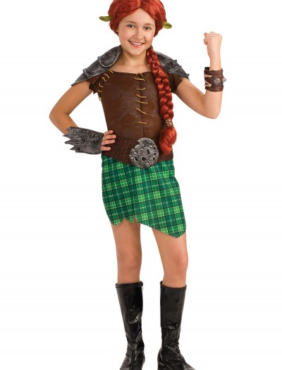 Child Princess Fiona Warrior Costume, halloween costume (Child Princess Fiona Warrior Costume)