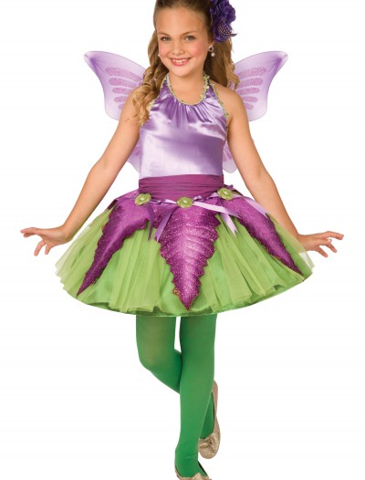 Child Purple Flower Fairy Costume, halloween costume (Child Purple Flower Fairy Costume)