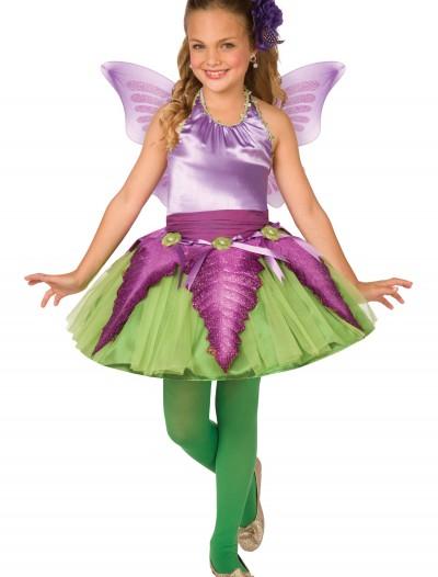 Child Purple Flower Fairy Costume, halloween costume (Child Purple Flower Fairy Costume)