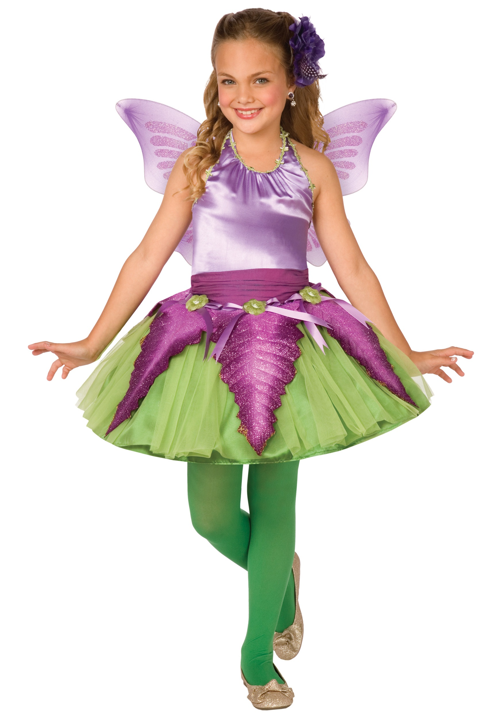 Child Purple Flower Fairy Costume  sc 1 st  Halloween Costumes & Child Purple Flower Fairy Costume - Halloween Costumes
