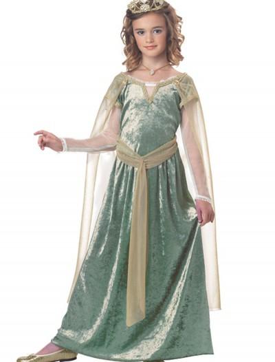 Child Queen Guinevere Costume, halloween costume (Child Queen Guinevere Costume)