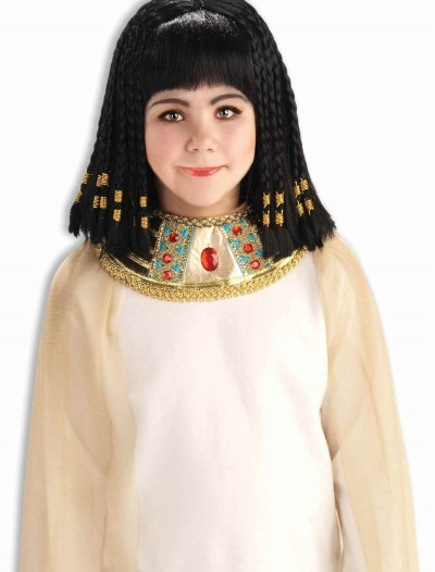 Child Queen of the Nile Wig, halloween costume (Child Queen of the Nile Wig)