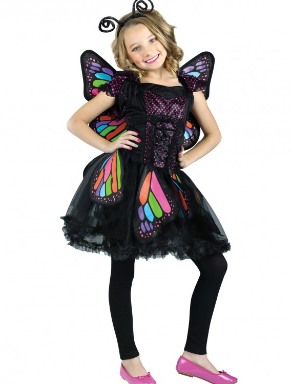 Child Rainbow Butterfly Costume, halloween costume (Child Rainbow Butterfly Costume)