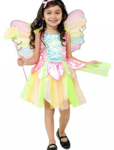 Child Rainbow Princess Fairy Costume, halloween costume (Child Rainbow Princess Fairy Costume)