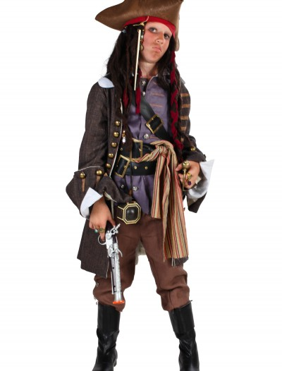 Child Realistic Caribbean Pirate Costume, halloween costume (Child Realistic Caribbean Pirate Costume)