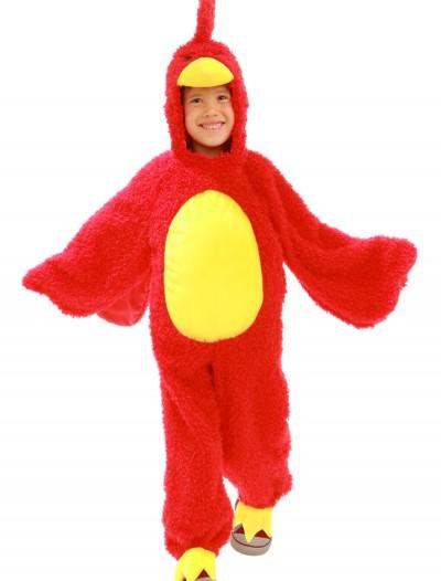 Child Red Grumpy Bird Costume, halloween costume (Child Red Grumpy Bird Costume)