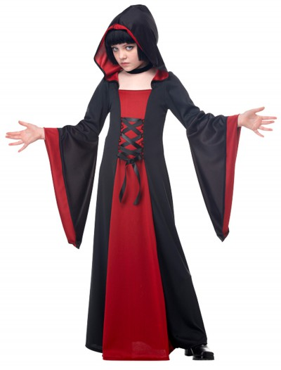 Child Red Hooded Robe, halloween costume (Child Red Hooded Robe)