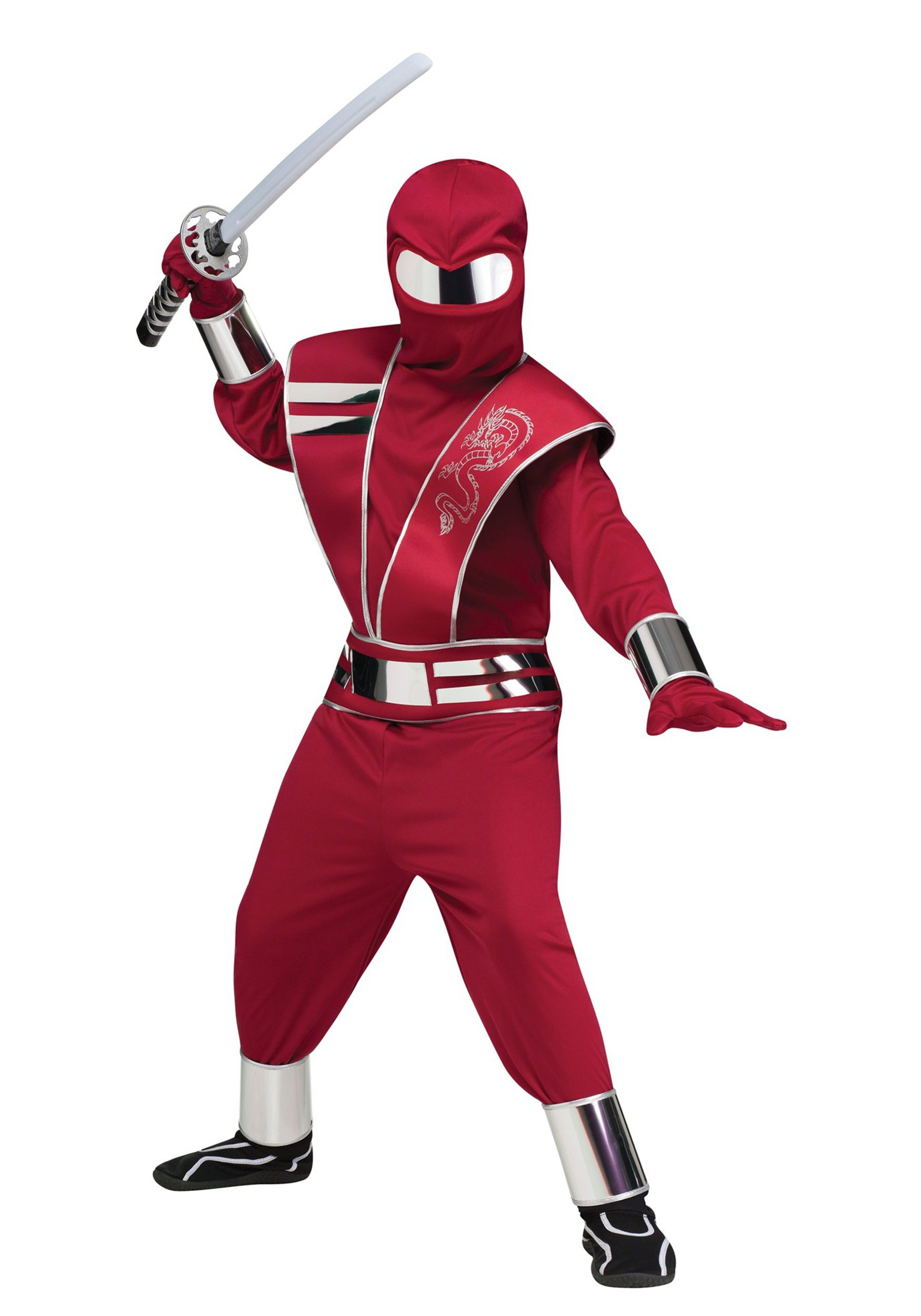 Child Red Mirror Ninja Costume  sc 1 st  Halloween Costumes & Child Red Mirror Ninja Costume - Halloween Costumes