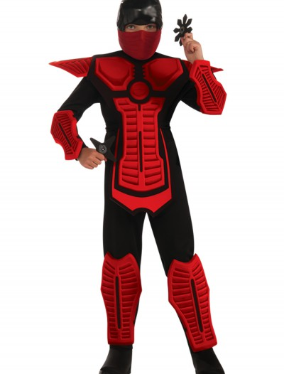 Child Red Ninja Costume, halloween costume (Child Red Ninja Costume)