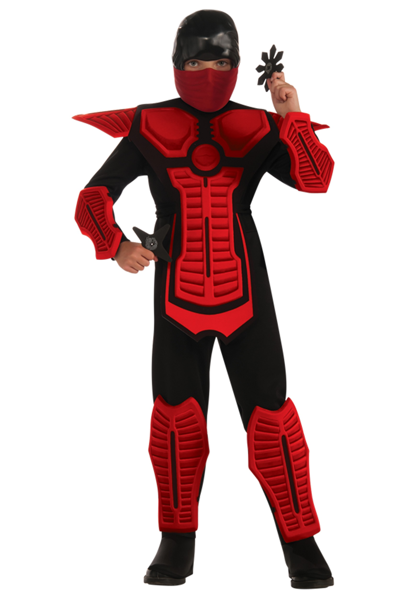 Child Red Ninja Costume  sc 1 st  Halloween Costumes & Child Red Ninja Costume - Halloween Costumes