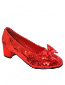 Child Red Sequin Shoes, halloween costume (Child Red Sequin Shoes)