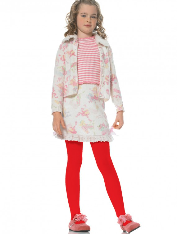 Child Red Tights, halloween costume (Child Red Tights)