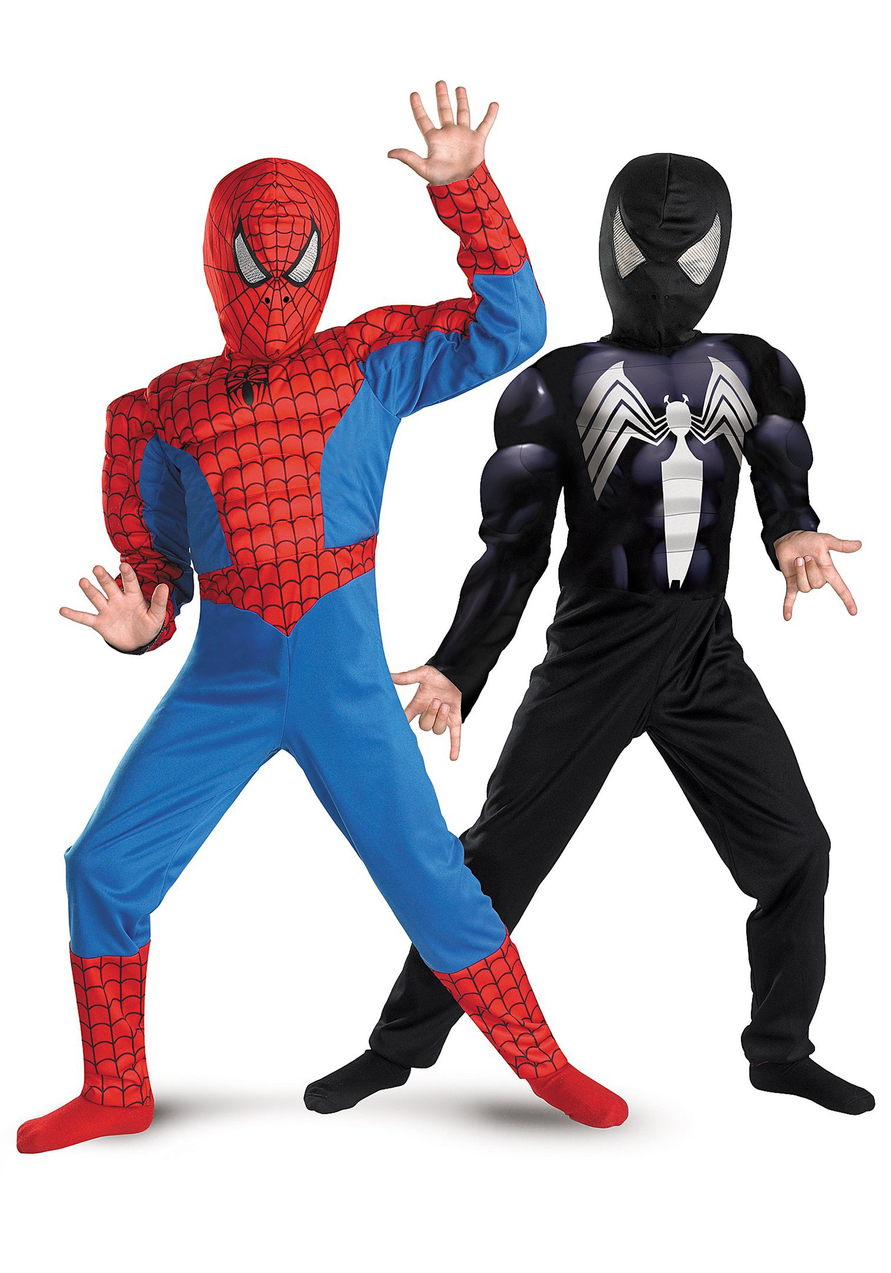 Child Reversible Muscle Chest Spiderman Costume  sc 1 st  Halloween Costumes & Child Reversible Muscle Chest Spiderman Costume - Halloween Costumes