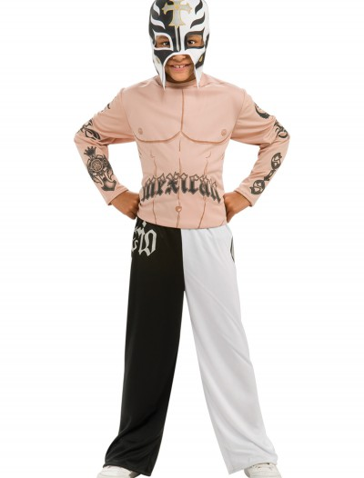 Child Rey Mysterio Jr. Costume, halloween costume (Child Rey Mysterio Jr. Costume)