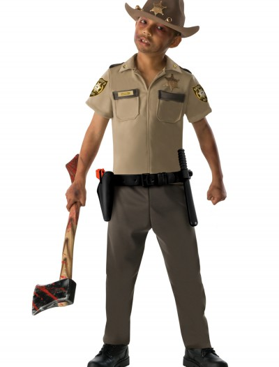Child Rick Grimes Costume, halloween costume (Child Rick Grimes Costume)