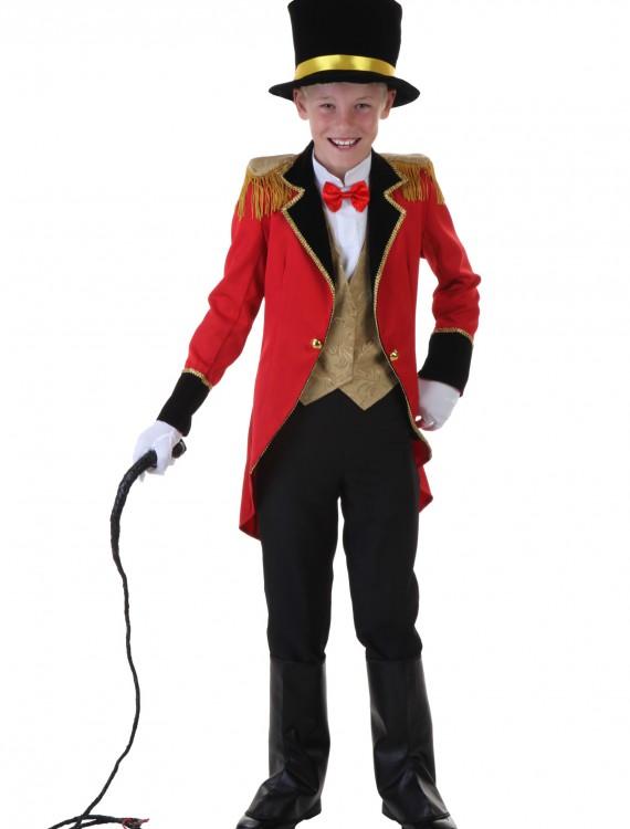 Child Ringmaster Costume, halloween costume (Child Ringmaster Costume)