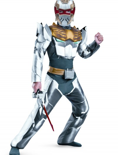 Child Robo Knight Megaforce Classic Muscle Costume, halloween costume (Child Robo Knight Megaforce Classic Muscle Costume)