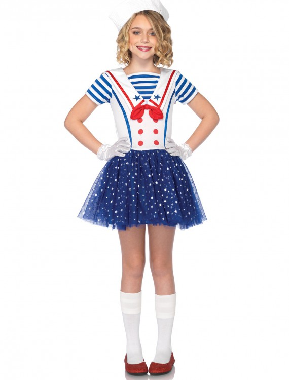 Child Sailor Sweetie Costume, halloween costume (Child Sailor Sweetie Costume)