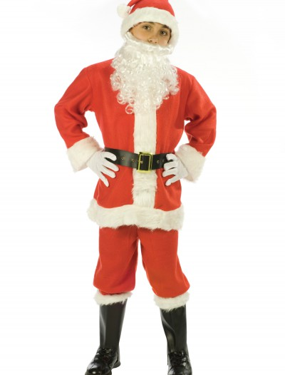 Child Santa Suit, halloween costume (Child Santa Suit)