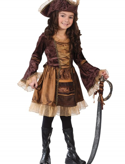 Child Sassy Victorian Pirate Costume, halloween costume (Child Sassy Victorian Pirate Costume)