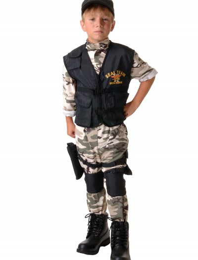 Child SEAL Team Costume, halloween costume (Child SEAL Team Costume)