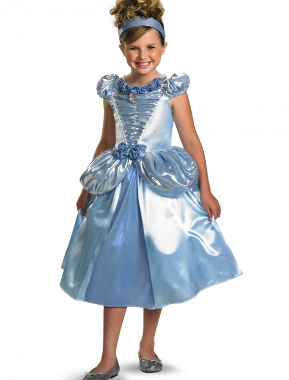 Child Shimmer Cinderella Costume, halloween costume (Child Shimmer Cinderella Costume)