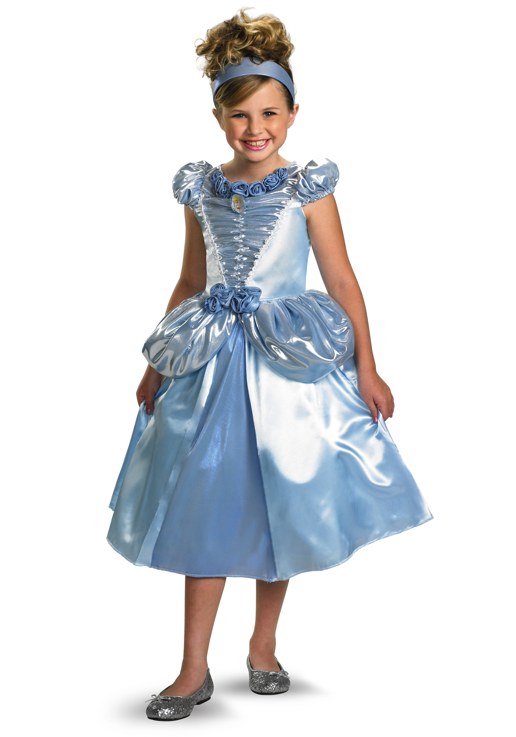 Child Shimmer Cinderella Costume  sc 1 st  Halloween Costumes & Child Shimmer Cinderella Costume - Halloween Costumes