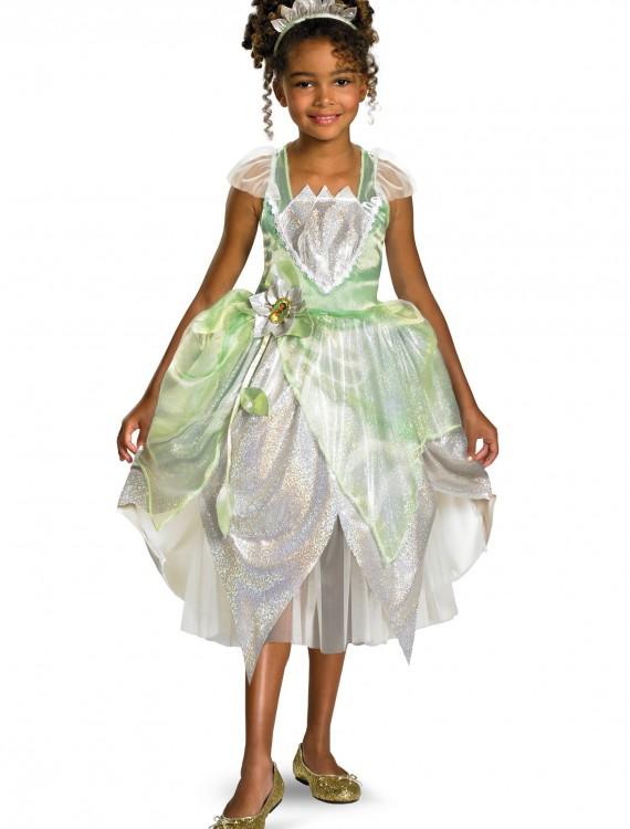 Child Shimmer Tiana Costume, halloween costume (Child Shimmer Tiana Costume)