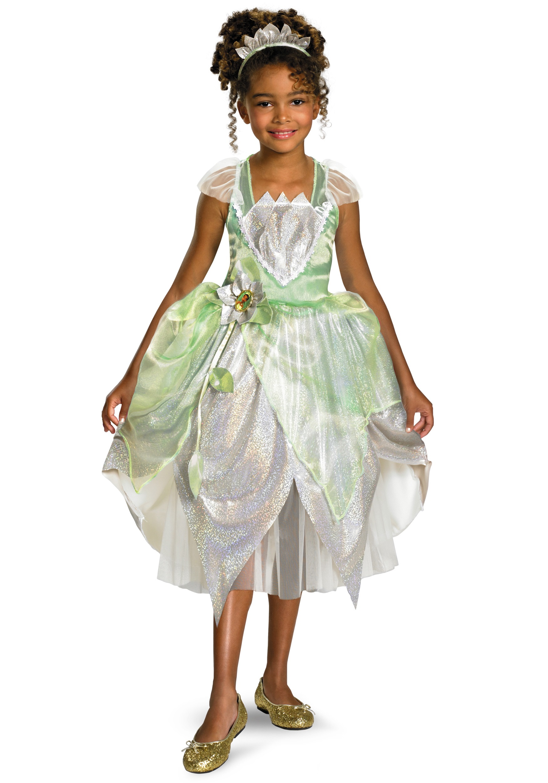 Child Shimmer Tiana Costume Halloween Costumes