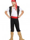 Child Ship Ahoy Pirate Costume, halloween costume (Child Ship Ahoy Pirate Costume)