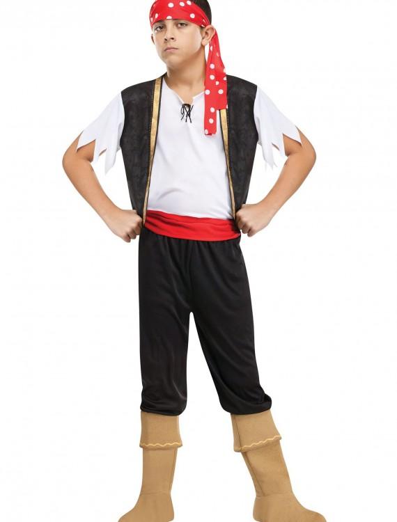 Child Ship Ahoy Pirate Costume, halloween costume (Child Ship Ahoy Pirate Costume)