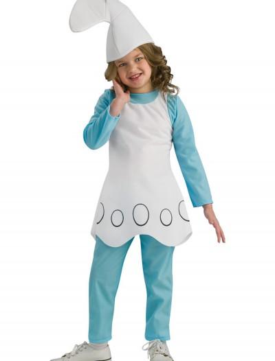Child Smurfette Costume, halloween costume (Child Smurfette Costume)