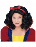 Child Snow White Wig, halloween costume (Child Snow White Wig)