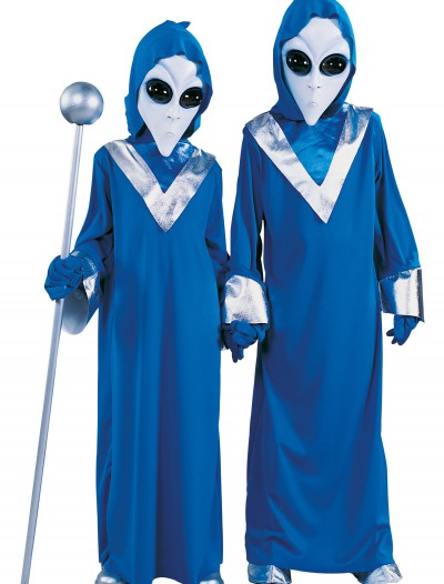 Child Space Alien Costume, halloween costume (Child Space Alien Costume)
