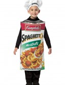Child Spaghettios Costume, halloween costume (Child Spaghettios Costume)