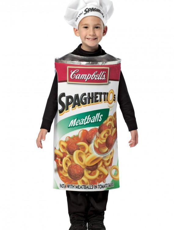 Child Spaghettios Costume, halloween costume (Child Spaghettios Costume)