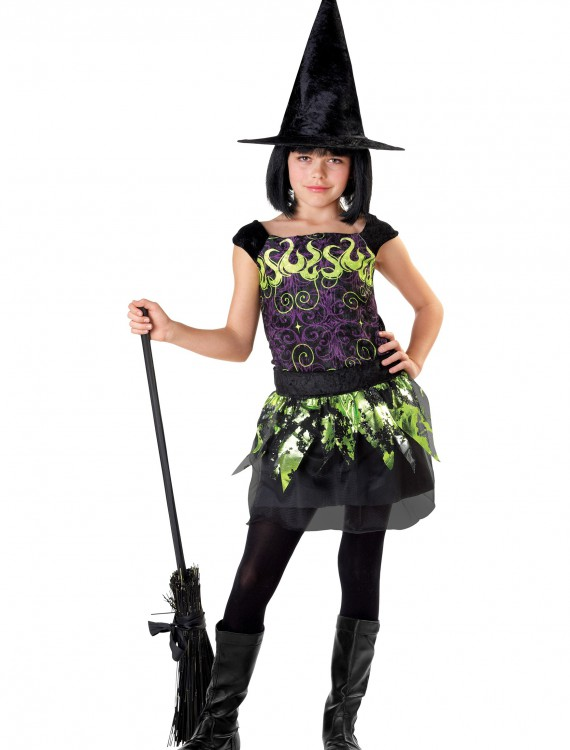 Child Spellcaster Witch Costume, halloween costume (Child Spellcaster Witch Costume)