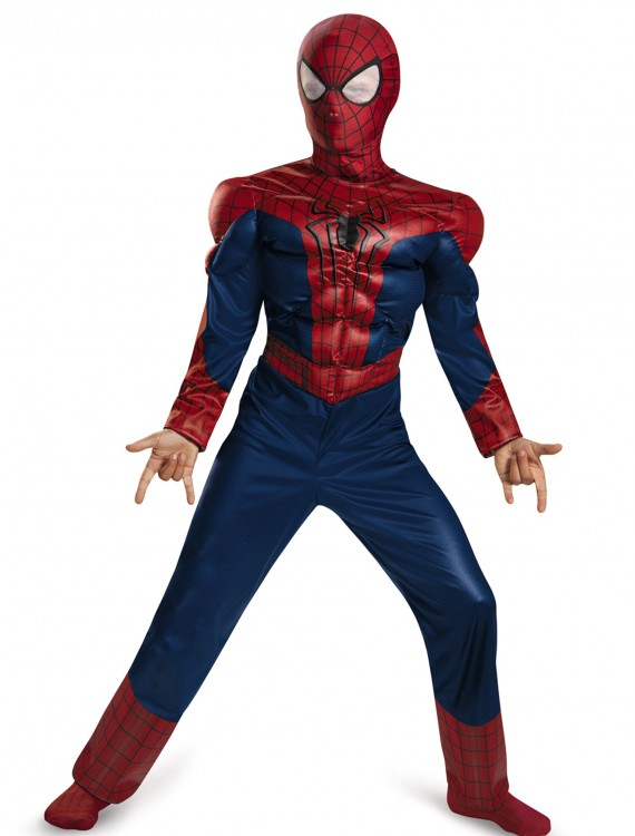 Child Spider-Man 2 Classic Muscle Costume, halloween costume (Child Spider-Man 2 Classic Muscle Costume)