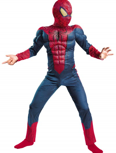 Child Spider-Man Movie Muscle Costume, halloween costume (Child Spider-Man Movie Muscle Costume)