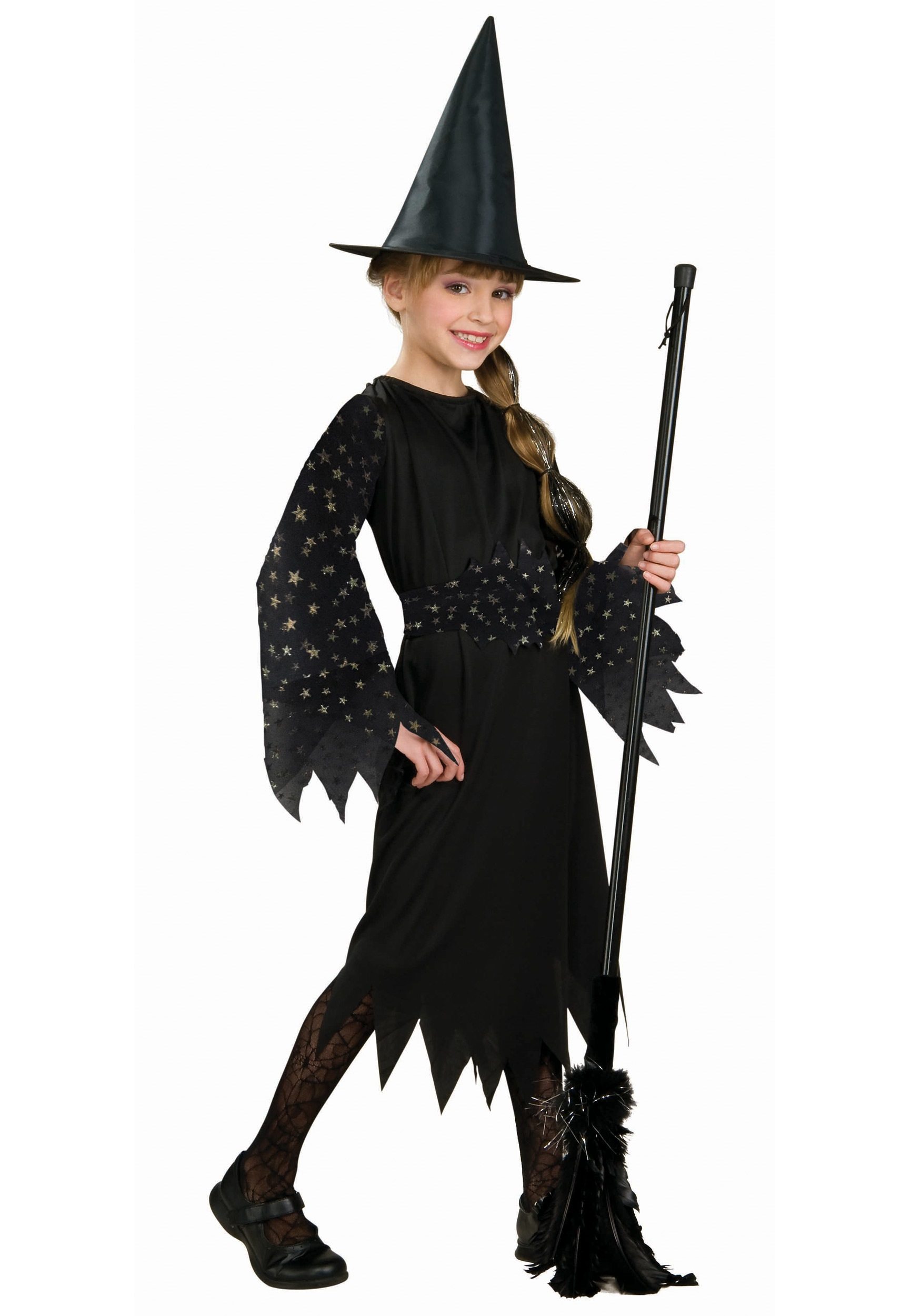 child starry witch costume