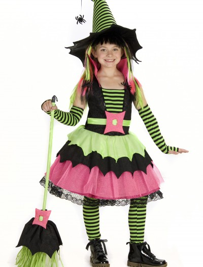 Child Spiderina Witch Costume, halloween costume (Child Spiderina Witch Costume)