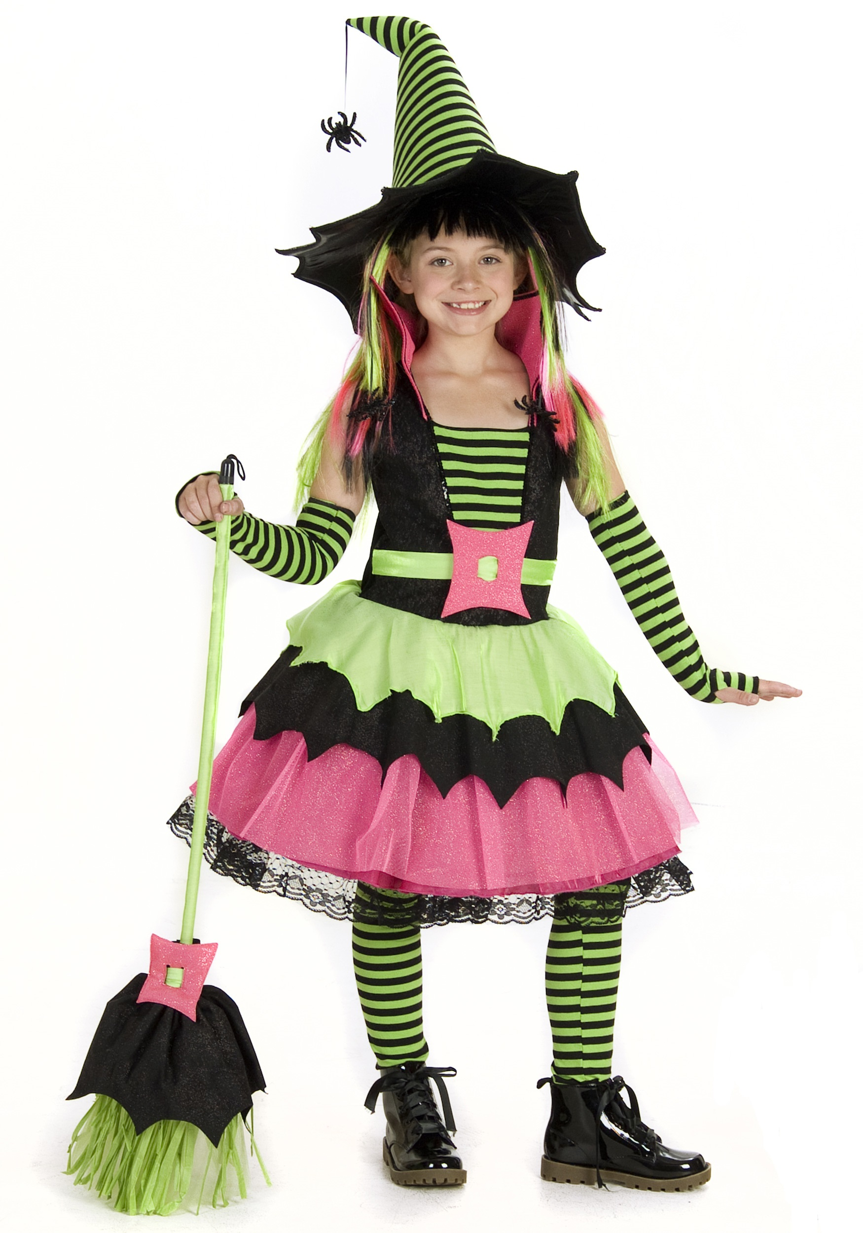 Child Spiderina Witch Costume  sc 1 st  Halloween Costumes & Child Spiderina Witch Costume - Halloween Costumes