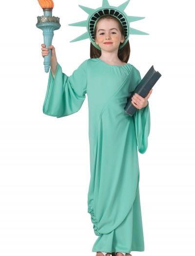 Child Statue of Liberty Costume, halloween costume (Child Statue of Liberty Costume)