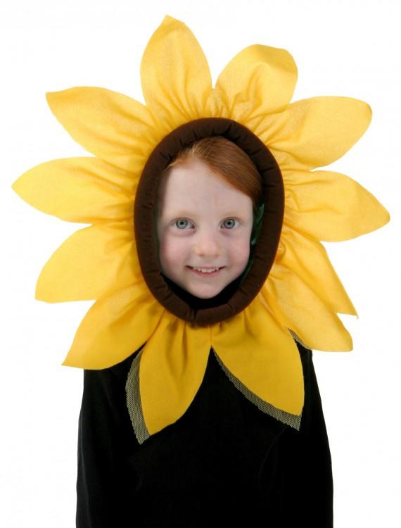 Child Sunflower Hood, halloween costume (Child Sunflower Hood)