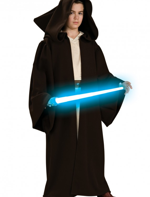 Child Super Deluxe Jedi Robe, halloween costume (Child Super Deluxe Jedi Robe)