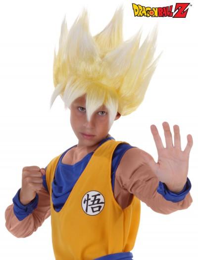 Child Super Saiyan Goku Wig, halloween costume (Child Super Saiyan Goku Wig)