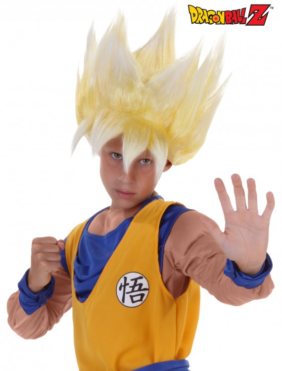 Child Super Saiyan Goku Wig, halloween costume (Child Super Saiyan Goku Wig)